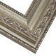 Beaded Antique Silver Picture Frame