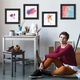 CW4G Charcoal 4-piece Gallery Wall