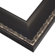 Black with Champagne Wood Picture Frame