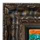 Ornate Gold with Bronze Canvas Floater Frame