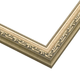 Slim Ornate Silver Wood Picture Frame