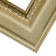 Ornate Champagne Wood Picture Frame