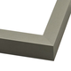 Contemporary Gray Metal Picture Frame