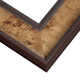 Toffee Burl Wood Picture Frame