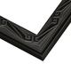Black Lacquer Art Deco Picture Frame