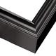 Deep Black Satin Wood Picture Frame