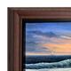 Bordeaux Wood Canvas Floater Frame