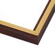 CF4 Walnut w/ Gold Frame