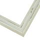 WX580 Antiqued White Frame
