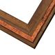 RLE7 Reclaimed Oak w/ Copper Inlay Frame