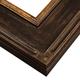 3PGA Espresso Gold Frame