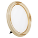 5OVTT Brushed Ivory w/ Gold Frame