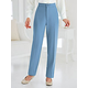 Fly Front Pants By Bend Over