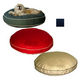 Classic Twill Round-A-Bout Dog Bed Large Red