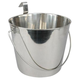 Flat-Sided Hook-On Pail 9 Qt