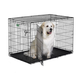 MidWest iCrate Dbl Door Folding Dog Crate 48x30x33