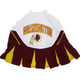Washington Redskins Cheerleader Dog Dress X-Small