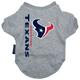 Houston Texans Dog Tee Shirt X-Large