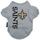 New Orleans Saints Dog Tee Shirt X-Large