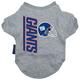 New York Giants Dog Tee Shirt X-Large