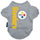 Pittsburgh Steelers Dog Tee Shirt X-Large