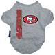 San Francisco 49ers Dog Tee Shirt X-Large