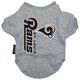 St Louis Rams Dog Tee Shirt X-Large