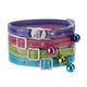 Savvy Tabby Sparkle Paw Cat Collar Violet