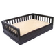New Age Pet Espresso Raised Pet Bed Small
