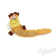 Kyjen Shakeables Plush Dog Toy Monkey