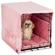 Pet Dreams Dusty Pink Dog Crate Bedding 36 Inch