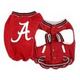 NCAA Alabama Crimson Tide Dog Jacket Large