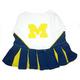 NCAA Michigan Wolverines Cheerleader Dog Dress MD