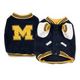 NCAA Michigan Wolverines Dog Jacket X-Large