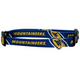 NCAA West Virginia Dog Collar Large