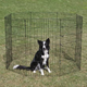 Crate Appeal Black Pet Exercise Pen 48 Inch