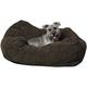KH Mfg Cuddle Cube Mocha Dog Bed Small