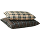 KH Mfg Indoor/Outdoor Tan Plaid Dog Bed Large