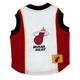 NBA Miami Heat Dog Jersey Large