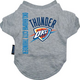 NBA Oklahoma City Thunder Dog Tee Shirt X-Large