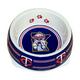 MLB Minnesota Twins Plastic Dog Bowl Large
