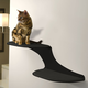 RefinedKind Cat Clouds Black Cat Shelf Right