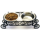 SPOT Mediteranean Double Diner Dog Feeder 3 Quart