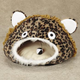 Meow Town Leopard  Cat Cave  Gray