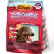 Zukes Z-Bone Berry Edible Dental Dog Chew Giant