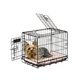 Precision Pet 2-door Dog Crate 48x30x33 Black
