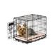 Precision Pet ProValu Dog Crate 48x30x33 Black
