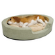 KH Mfg Thermo Snuggly Sleeper Dog Bed Large Sage