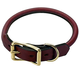 Mendota Rolled Leather Dog Collar 24in x 3/4in