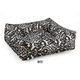 Bowsers Ritz Style Dutchie Dog Bed SM Ebony